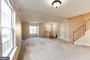 Light Filled Dining & Living Areas - 15083 JARRELL PL, WOODBRIDGE