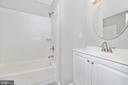 Upper Level Hall Full Bathroom - 8829 WHIMSEY CT, WALKERSVILLE