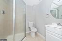 Lower Level Full Bathroom - 8829 WHIMSEY CT, WALKERSVILLE