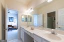 Jack n Jill Bathroom - 43046 WATERS OVERLOOK CT, LEESBURG