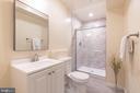 Basement Full Bathroom - 43046 WATERS OVERLOOK CT, LEESBURG