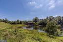Lake with Beautiful Bridge - 43046 WATERS OVERLOOK CT, LEESBURG