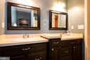 Double vanity in the Master bathroom - 88 BOUNDARY DR, STAFFORD