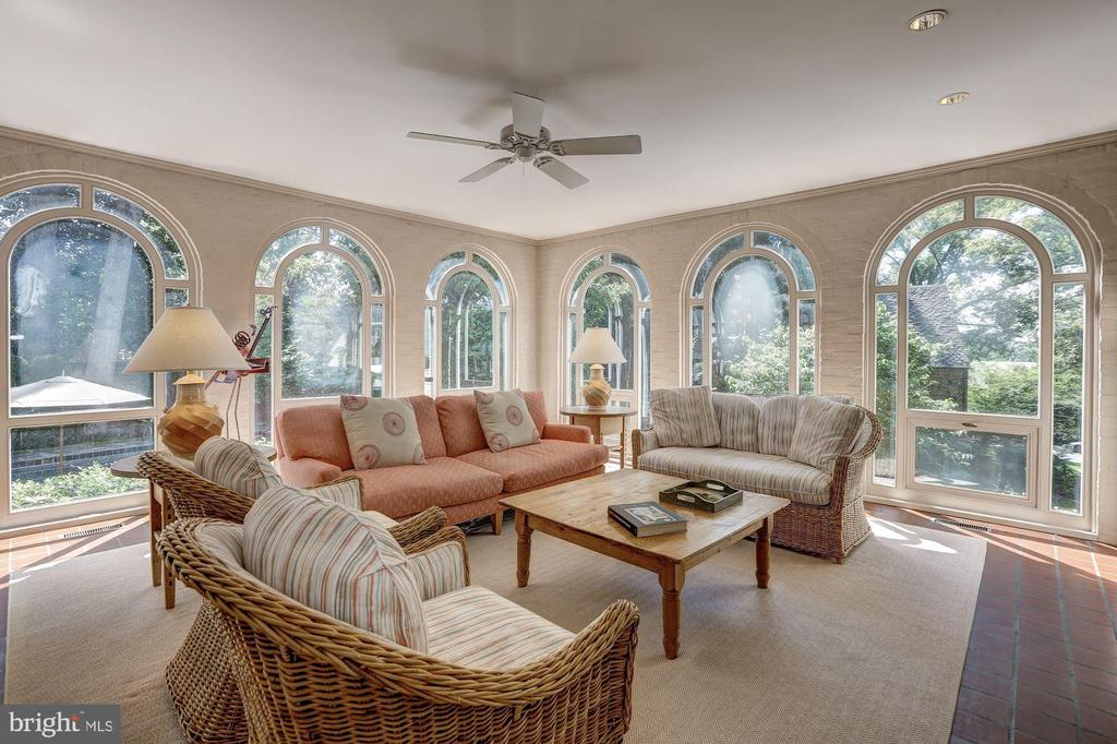 Family Room - 6405 SHADOW RD, CHEVY CHASE