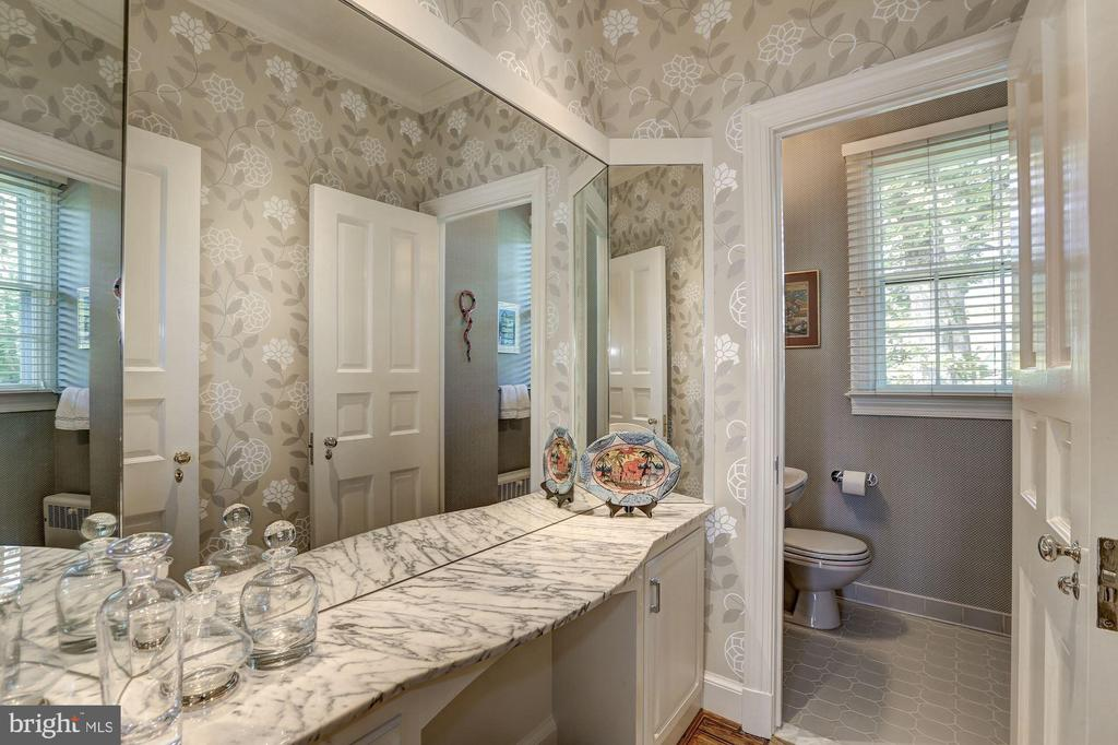 Powder Room - 6405 SHADOW RD, CHEVY CHASE