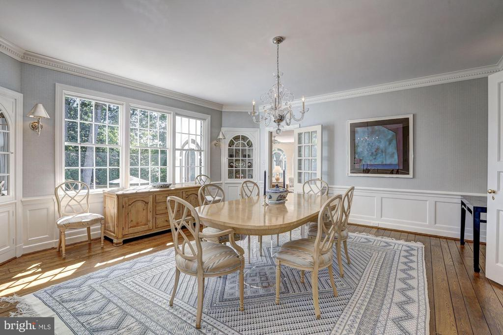 Dining Room - 6405 SHADOW RD, CHEVY CHASE