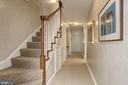 Stair to 3rd Level - 6405 SHADOW RD, CHEVY CHASE