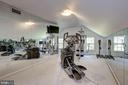 Fitness Room - 6405 SHADOW RD, CHEVY CHASE