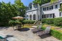 Rear Exterior and Terrace - 6405 SHADOW RD, CHEVY CHASE