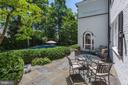 Terrace off Family Room and Kitchen - 6405 SHADOW RD, CHEVY CHASE