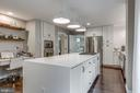 Remodeled kitchen with planning desk - 20456 TAPPAHANNOCK PL, STERLING