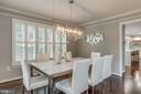 Formal dining room - 20456 TAPPAHANNOCK PL, STERLING