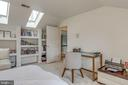 Bedroom 5 with built ins and skylights - 20456 TAPPAHANNOCK PL, STERLING