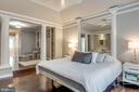 Main level master with hardwood floors - 20456 TAPPAHANNOCK PL, STERLING