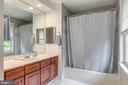 Hall bathroom - 20456 TAPPAHANNOCK PL, STERLING
