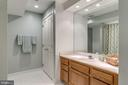 Lower level full bath - 20456 TAPPAHANNOCK PL, STERLING