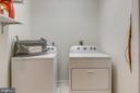 Upper level laundry - 20456 TAPPAHANNOCK PL, STERLING