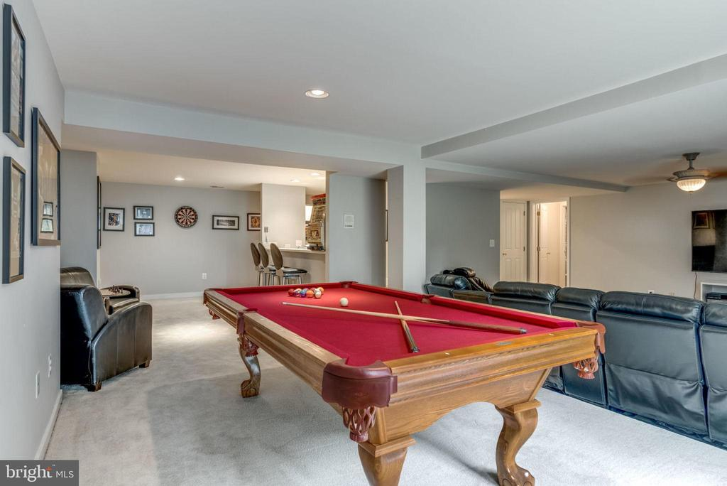 Lower level game area - 20456 TAPPAHANNOCK PL, STERLING