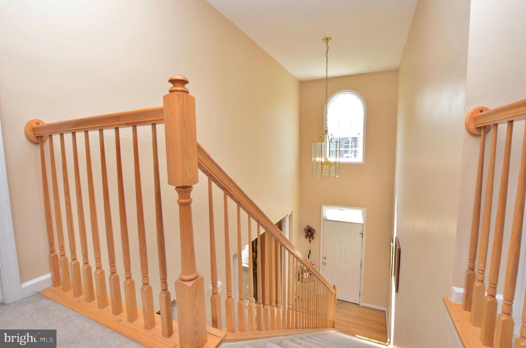 2 story foyer - 43228 CAVELL CT, LEESBURG