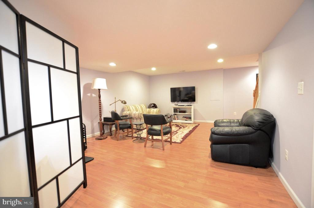 Finished walkout basement - 43228 CAVELL CT, LEESBURG
