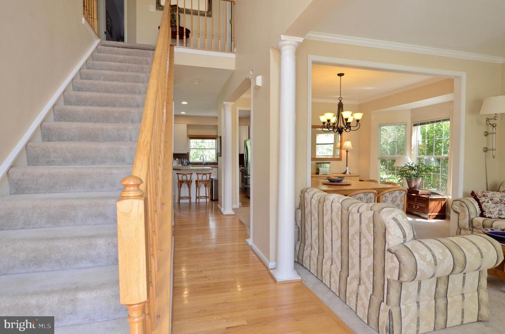 Hardwood floors - 43228 CAVELL CT, LEESBURG