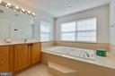 Owners Suite Full Bath - 14111 PUNCH ST, SILVER SPRING