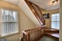 Stairs to the third floor - 11 BROOKES AVE, GAITHERSBURG