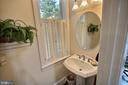 First floor half bathroom - 11 BROOKES AVE, GAITHERSBURG