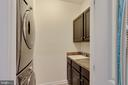 Upper Laundry Room with Cabinets  & Sink - 42091 PIEBALD SQ, ALDIE