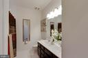 Hall Bathroom with Dual Sinks - 42091 PIEBALD SQ, ALDIE