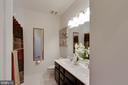 Hall Bathroom with Dual Sinks - 42091 PIEBALD SQ, ALDIE