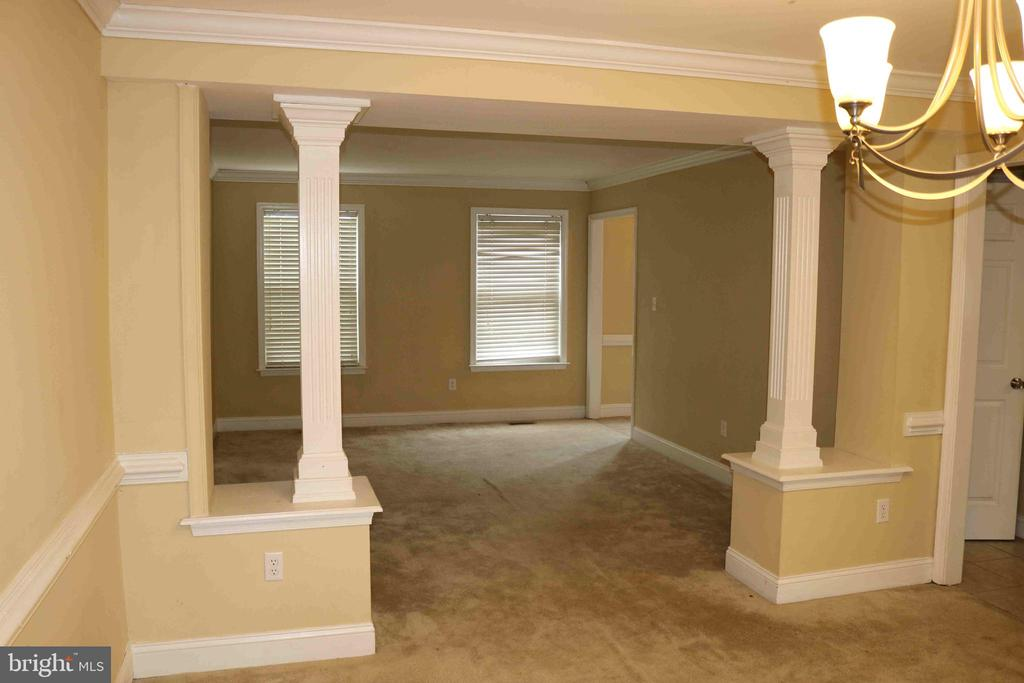 Looking from dining room to the living room - 22 NORFOLK ST, FREDERICKSBURG