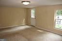 Additional Basement Bedroom w/access to yard - 22 NORFOLK ST, FREDERICKSBURG