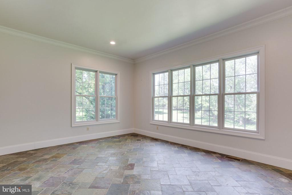 Check out the views from the sunroom - 1843 HUNTER MILL RD, VIENNA