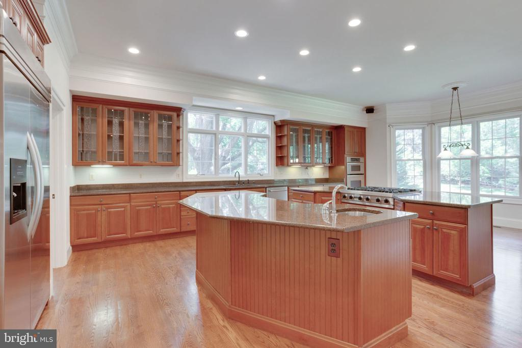 The kitchen is a chef's dream! - 1843 HUNTER MILL RD, VIENNA