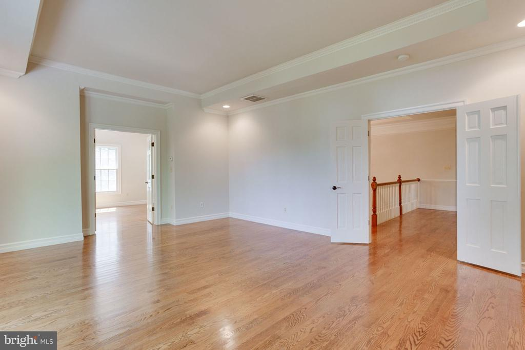 Tray ceiling, hardwoods, and recessed lights - 1843 HUNTER MILL RD, VIENNA