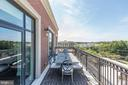 Private Balcony - 4915 HAMPDEN LN #604, BETHESDA