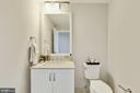 Powder Room - 4915 HAMPDEN LN #604, BETHESDA
