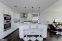 Gourmet Kitchen - 4915 HAMPDEN LN #604, BETHESDA