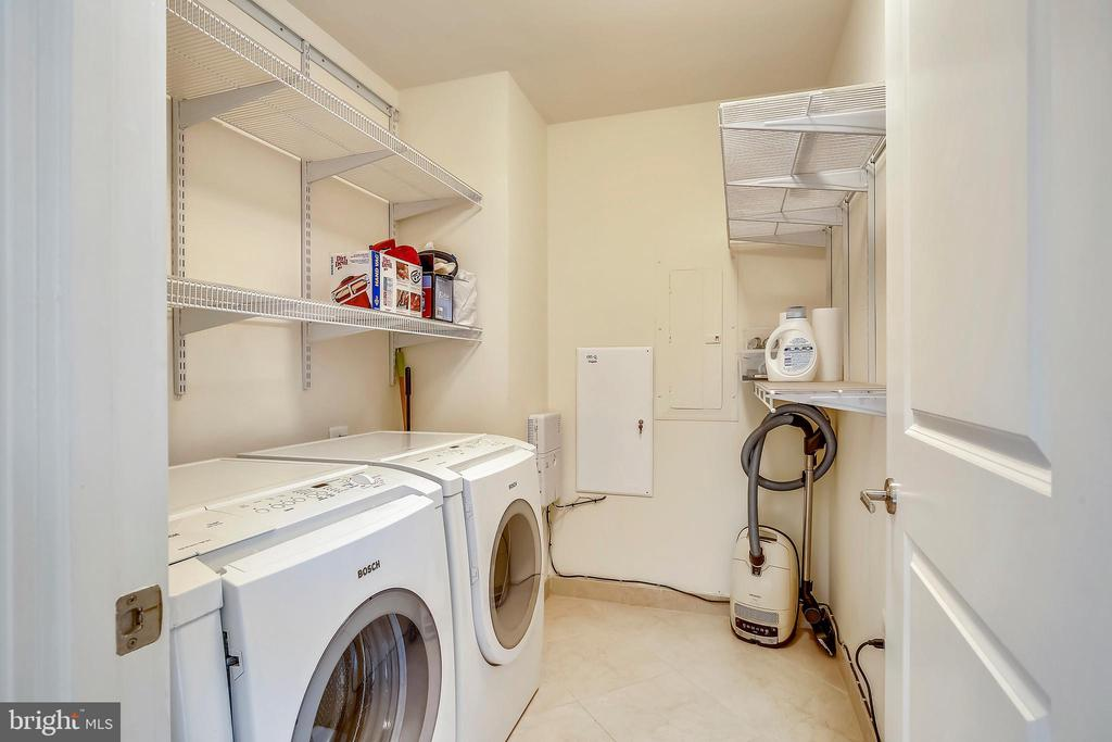 Separate laundry room - 4301 MILITARY RD NW #PH2, WASHINGTON