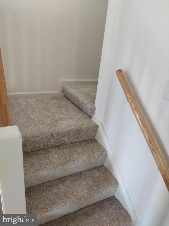 Stairs to second level - 3827 EL CAMINO PL #13, ALEXANDRIA