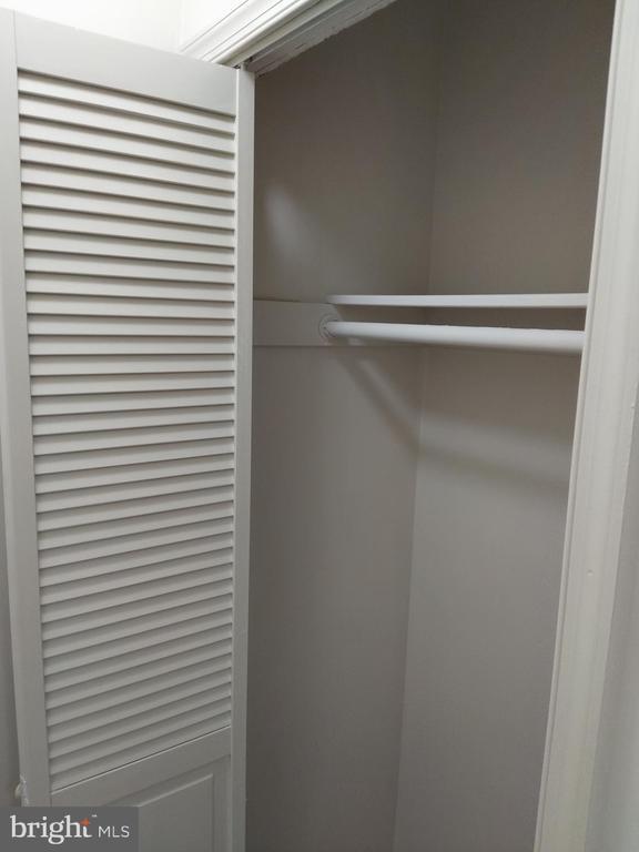 Entry closet for coats. - 3827 EL CAMINO PL #13, ALEXANDRIA