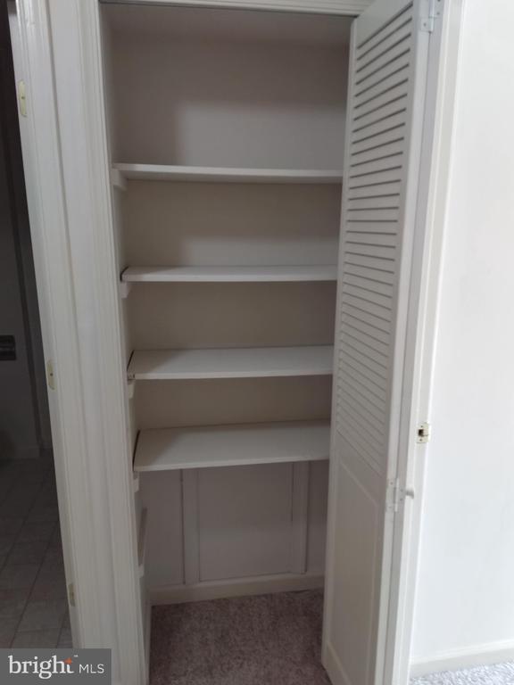 Hall linen closet - 3827 EL CAMINO PL #13, ALEXANDRIA