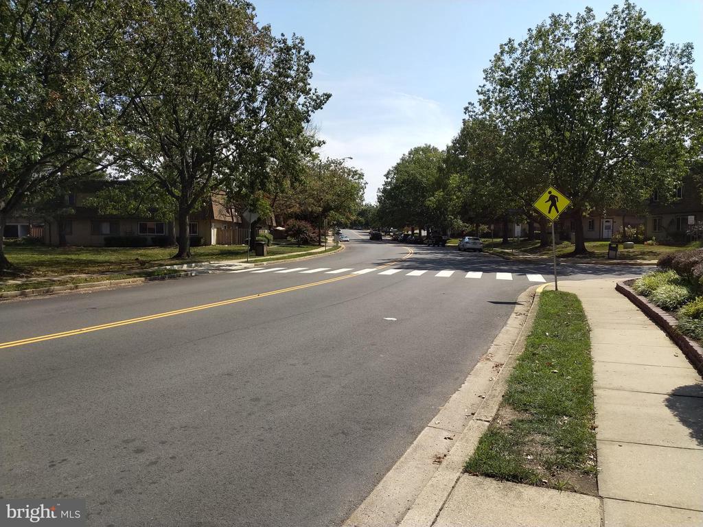 Main street into community - 3827 EL CAMINO PL #13, ALEXANDRIA