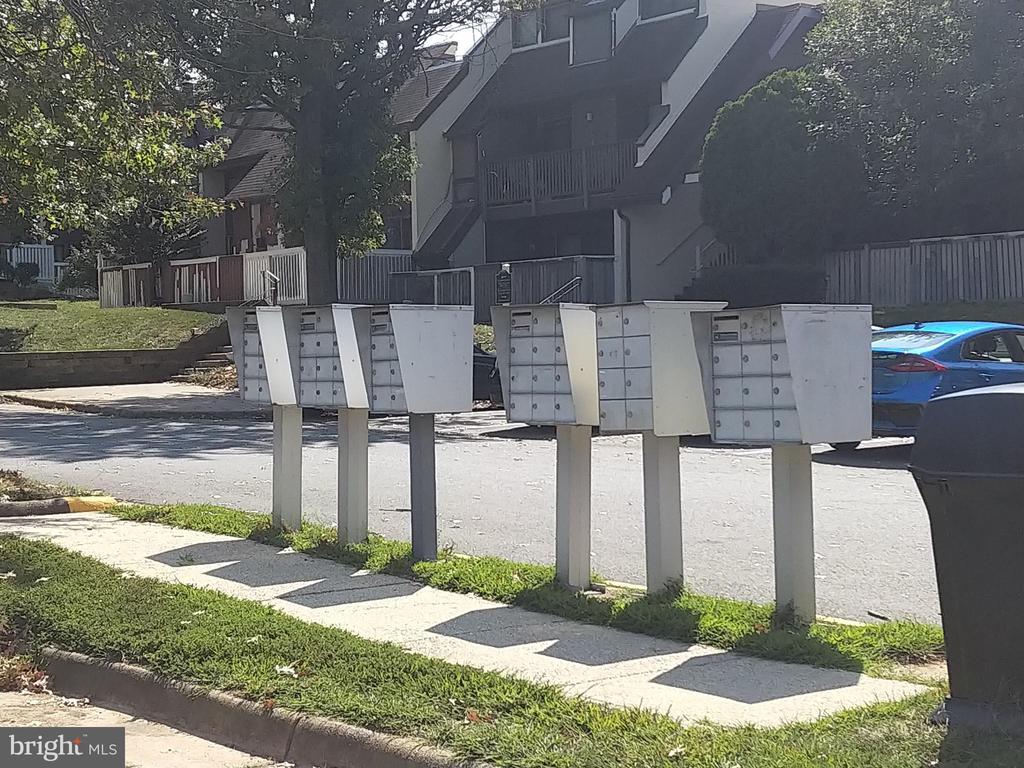Mail boxes in parking area - 3827 EL CAMINO PL #13, ALEXANDRIA