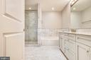 Master bath - 4301 MILITARY RD NW #PH2, WASHINGTON