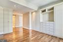 Master bedroom built-ins - 4301 MILITARY RD NW #PH2, WASHINGTON