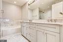 Master bath tub - 4301 MILITARY RD NW #PH2, WASHINGTON
