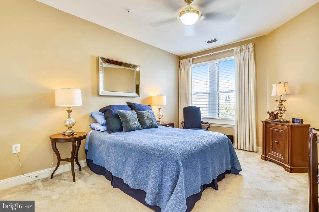 The large bedroom with south eastern lilght. - 1391 PENNSYLVANIA AVE SE #402, WASHINGTON