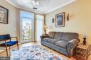 Living room with balcony overlooking the courtyard - 1391 PENNSYLVANIA AVE SE #402, WASHINGTON